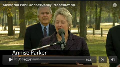 Memorial Park Conservancy Presentation