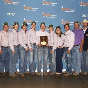 Young engineers awarded for teamwork and talent during Houston Livestock Show and Rodeo™ Agricultural Mechanics Project Show