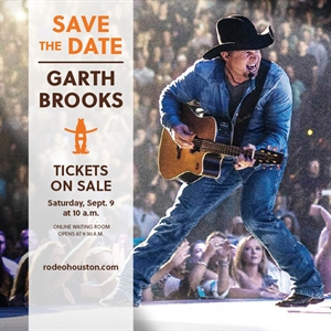 SAVE THE DATE: Garth Brooks Tickets On-Sale Saturday, Sept. 9