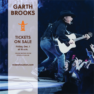 Garth Brooks Ticket On-Sale Rescheduled to Friday, Dec. 1, 2017
