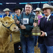 Excitement Filled NRG Stadium During the 2018 Houston Livestock Show and Rodeo™ Junior Market Steer Show Championship Selection