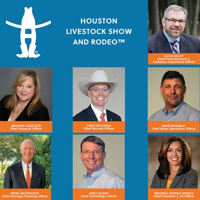 Rodeo Announces New Executive-Level Staff