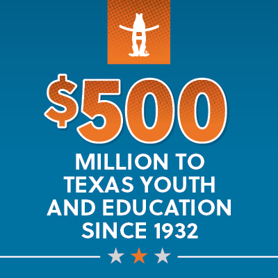 $500 Million to Texas Youth and Education
