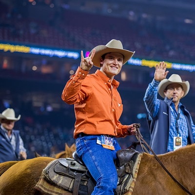Colton Becker: A Rodeo scholarship recipient turned UT's student body president