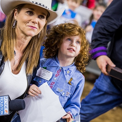 Mission Mutton Bustin': How one tiny contestant stole the hearts of thousands