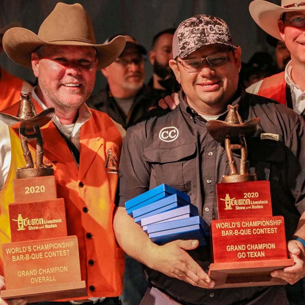 Houston Livestock Show and Rodeo™ 2020 World's Championship Bar-B-Que Contest Winners Announced