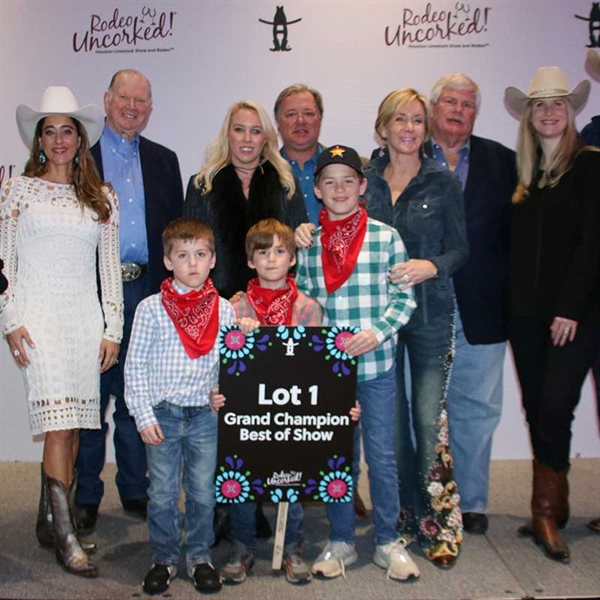 2020 Rodeo Uncorked® Grand Champion Wine Sells for $220,000