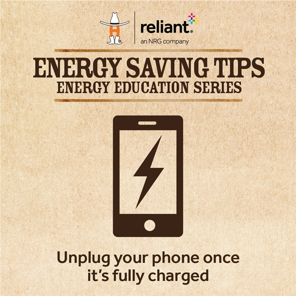 Energy Saving Tips from our Friends at Reliant