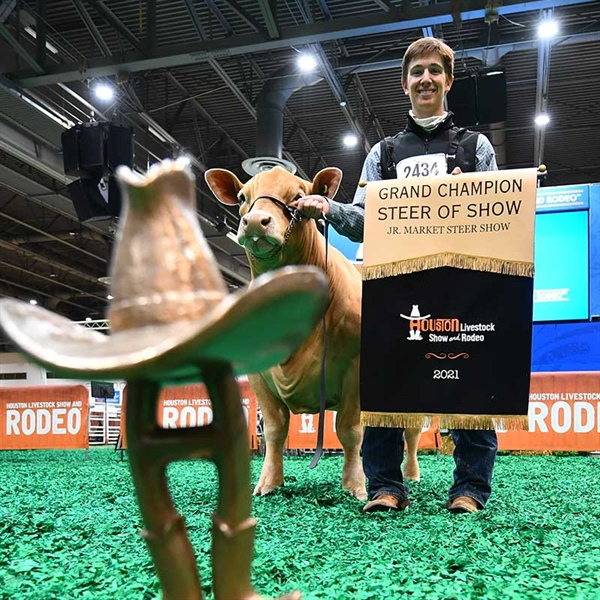2021 Junior Market Steer Champions Selected