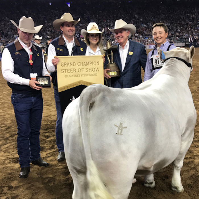 Top Steers Take Center Stage In Nrg Stadium At 2017