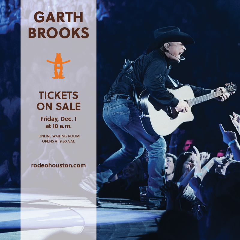 Garth Brooks Ticket On Sale Rescheduled To Friday Dec 1