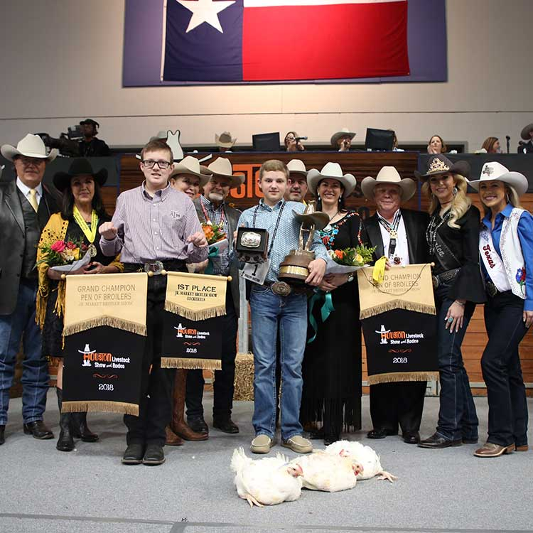 Texas Youth Poultry Projects Receive High Bids At The 2018
