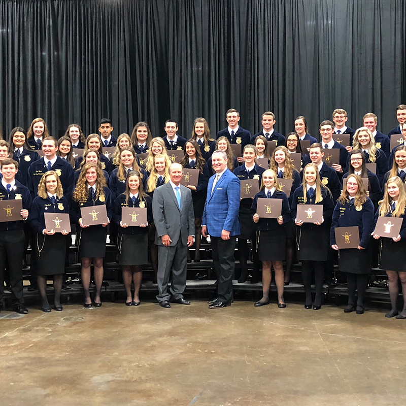Houston Livestock Show And Rodeo Scholars Presented With
