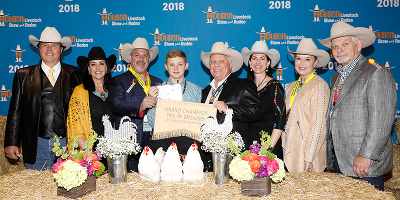 Grand Champion Pen of Broilers